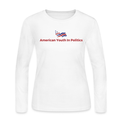 AYIP Women's Long Sleeve Shirt *Logo Large*  - Women's Long Sleeve Jersey T-Shirt