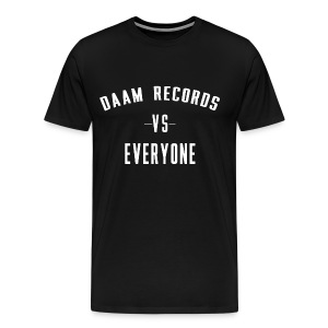 DAAM Records Vs Everyone Men's T-shirt - Men's Premium T-Shirt
