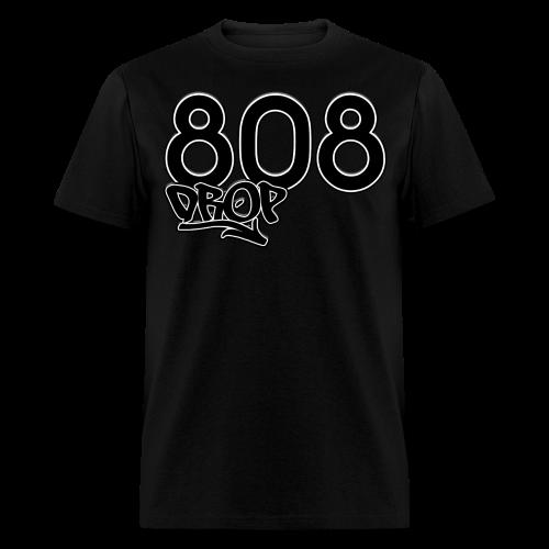 808 Drop (Black) - Men's T-Shirt