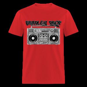 Drop That Ghetto Blaster (Red) - Men's T-Shirt