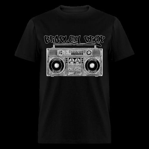 Drop That Ghetto Blaster (Black) - Men's T-Shirt