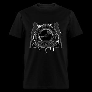 Drop Vinyl (Black) - Men's T-Shirt