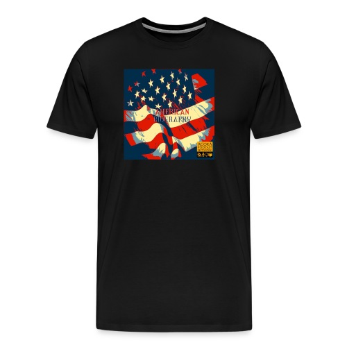 American Biography Logo Shirt - Men's Premium T-Shirt