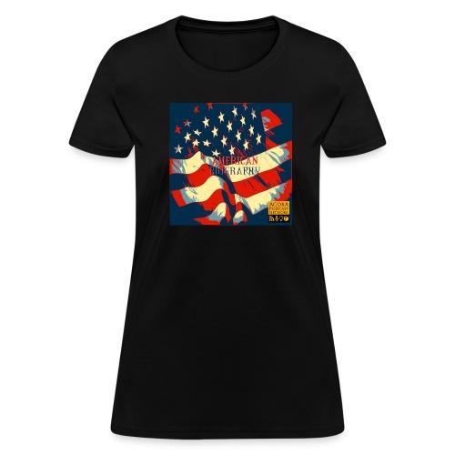 American Biography Logo Shirt - Women's T-Shirt