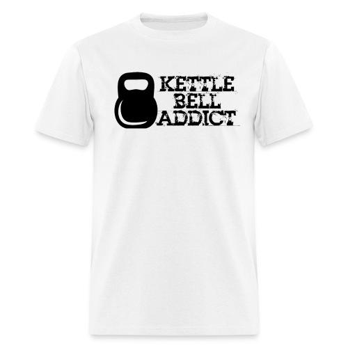 Kettlebell Addict - Men's T-Shirt