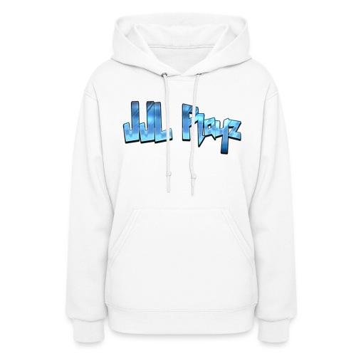 JJL Playz Hoodie - White - Women's Hoodie
