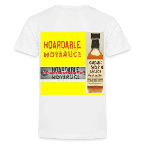 HOARDABLE HOT SAUCE  - Kids' Premium T-Shirt