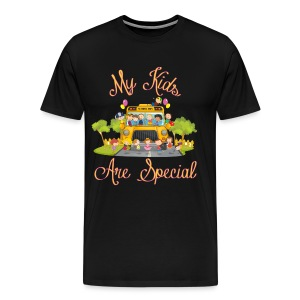 Bus Driver My kids are special Men's Premium T-shirt - Men's Premium T-Shirt