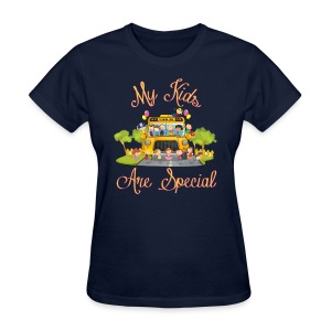 Bus Driver My kids are special Women's T-shirt - Women's T-Shirt