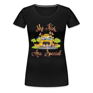 Bus Driver My kids are special Women's T-shirt - Women's Premium T-Shirt