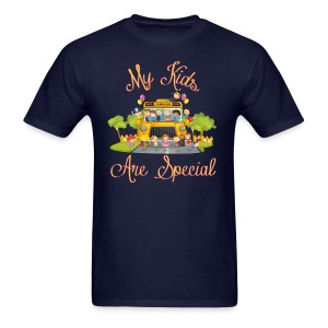 Bus Driver My kids are special Men's T-shirt - Men's T-Shirt