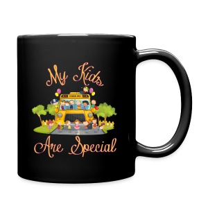 Bus Driver My kids are special Coffee Cup - Full Color Mug