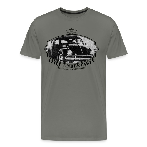 Retro beetle - Men's Premium T-Shirt