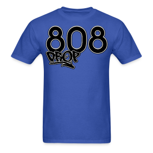 808 Drop (Blue) - Men's T-Shirt