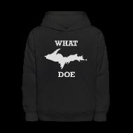 Sweatshirts ~ Kids' Hoodie ~ What U.P. Doe