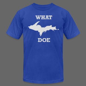 What U.P. Doe - Men's T-Shirt by American Apparel