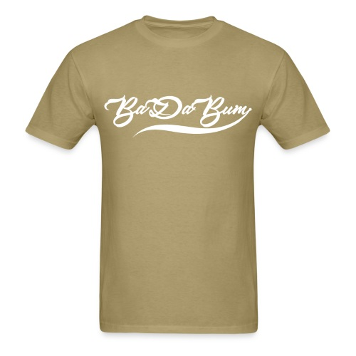 Men's Script BaDaBum T-shirt (All colors) - Men's T-Shirt