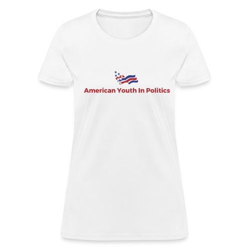 AYIP Women's Short Sleeved Shirt *Logo Large* - Women's T-Shirt