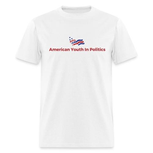 AYIP Men's Short Sleeved Shirt *Logo Large* - Men's T-Shirt