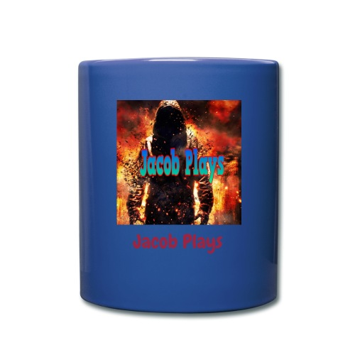 Jacob Plays Coffee Mug Red Blue - Full Color Mug