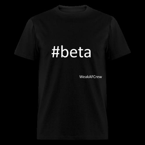 #beta white - Men's T-Shirt