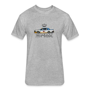 Volvo 262c Bertone Coupe Stock Car - Fitted Cotton/Poly T-Shirt by Next Level