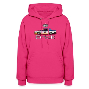 Volvo 262c Bertone Coupe Stock Car - Women's Hoodie