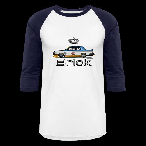 Volvo 262c Bertone Coupe Stock Car - Baseball T-Shirt