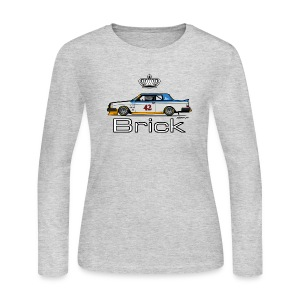 Volvo 262c Bertone Coupe Stock Car - Women's Long Sleeve Jersey T-Shirt