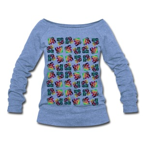RAR Abstract Wideneck Sweatshirt - Women's Wideneck Sweatshirt