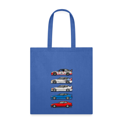 Stack of E36 coupes - Tote Bag
