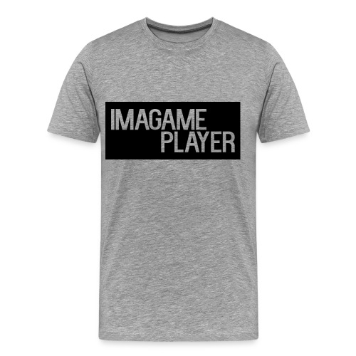 ImaGamePlayer T-Shirts (Black Logo) - Men's Premium T-Shirt