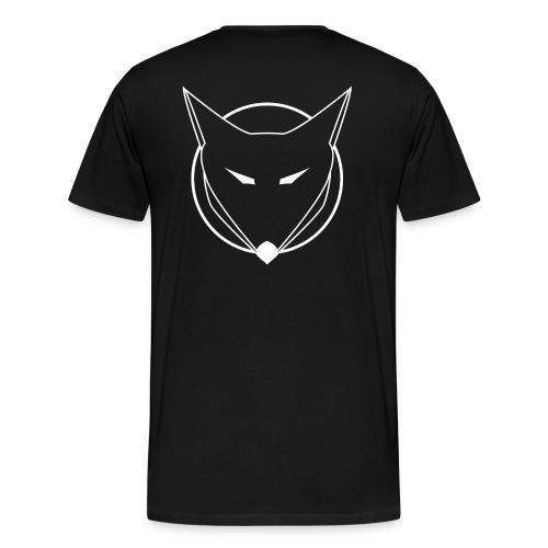 FOXAL Men's Premium T - White Logo - Men's Premium T-Shirt