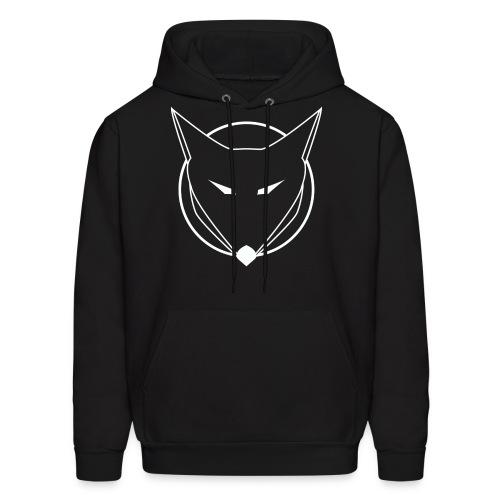 FOXAL Men's Hoodie - White Logo - Men's Hoodie