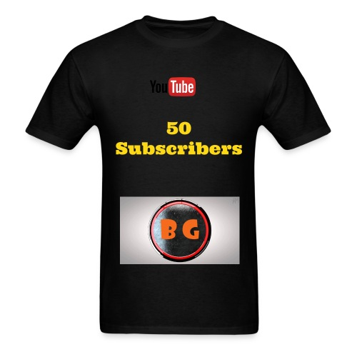Men's 50 Subscriber Special T-Shirt - Men's T-Shirt