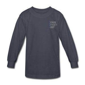 Got Your Six Oklahoma Law Enforcement Support Long Sleeve T-Shirt - Kids' Long Sleeve T-Shirt