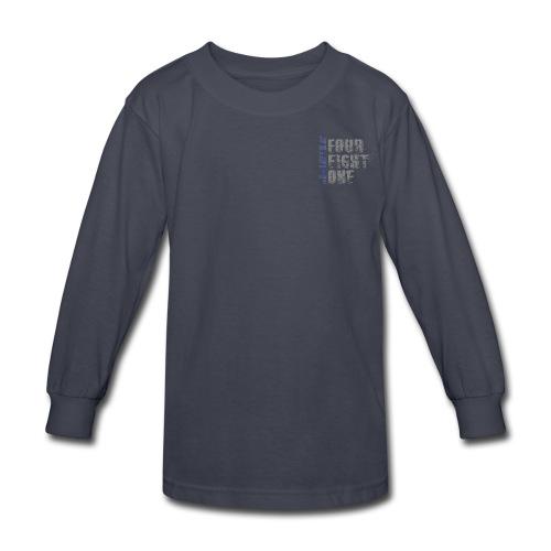 Got Your Six Oklahoma Law Enforcement Support Long Sleeve T-Shirt - Kids' Long Sleeve T-Shirt