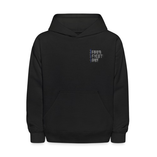 Got Your Six Oklahoma Law Enforcement Support Hoodie - Kids' Hoodie