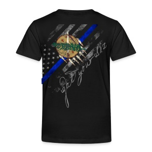 Got Your Six Oklahoma Law Enforcement Support T-Shirt - Toddler Premium T-Shirt