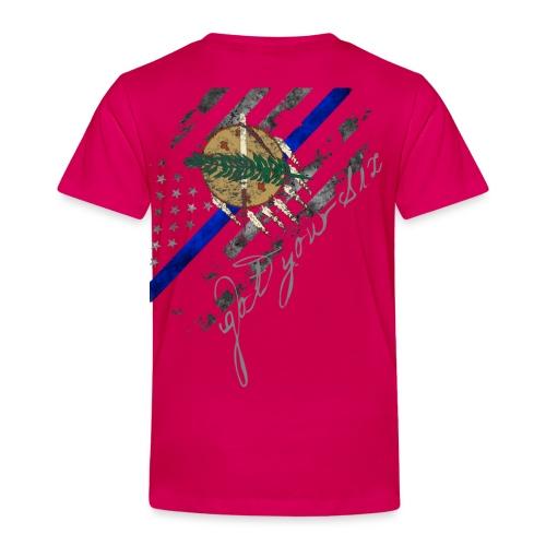 Got Your Six Oklahoma Law Enforcement Support T-Shirt - Toddler Premium T-Shirt
