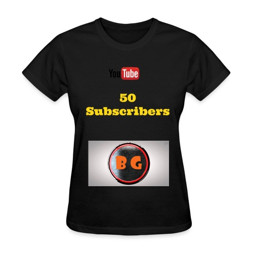 Women's 50 Subscriber Special T-Shirt - Women's T-Shirt