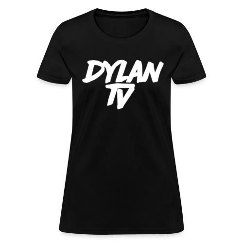 Womans Shirt Design 1 White Text - Women's T-Shirt