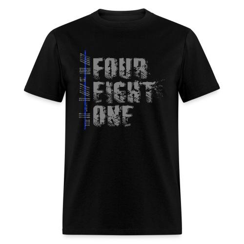 FourEightOne Logo Oklahoma Law Enforcement Supporter Shirt - Men's T-Shirt
