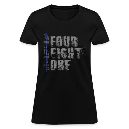 FourEightOne Logo Oklahoma Law Enforcement Supporter Shirt - Women's T-Shirt
