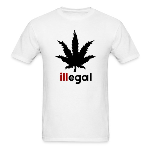 illegal - ill - Men's T-Shirt