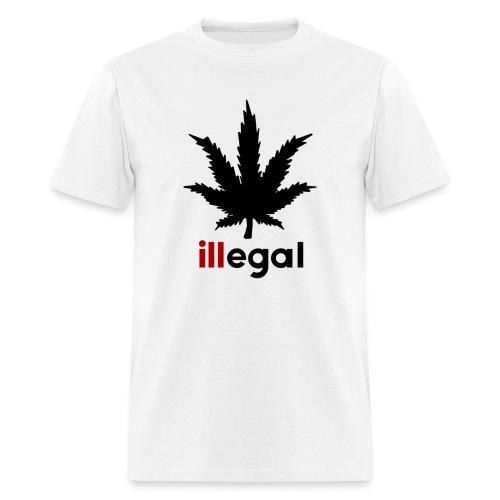 illegal - ill - Men's T-Shirt