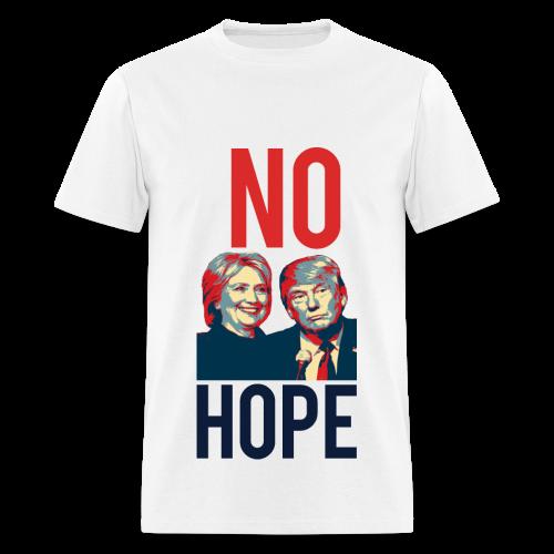 No Hope Men's Cotton Tee - [America Is Fucked™] - Men's T-Shirt