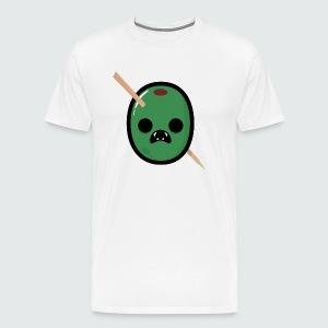 Zombie Olive Mans T-Shirt - Men's Premium T-Shirt