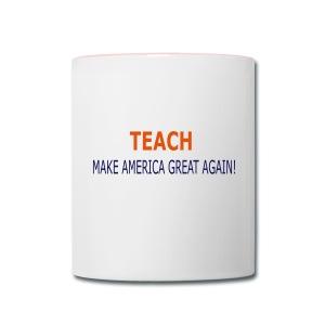 Teach - Contrast Coffee Mug