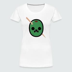 Zombie Olive Womans T-Shirt - Women's Premium T-Shirt